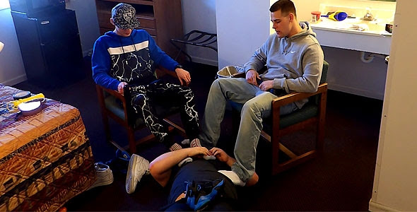 Foot licking fag gets femdom treatment from mistress tangent - 2 part 6